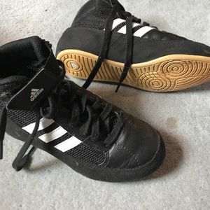 Adidas Wrestling Sneakers - Youth Size 2